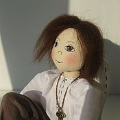 Куклы и игрушки ручной работы. Ярмарка Мастеров - ручная работа Ангел текстильный. Handmade.