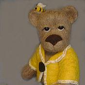 """Куклы и игрушки ручной работы. Ярмарка Мастеров - ручная работа Мишка """"Пчеловод"""". Handmade."""