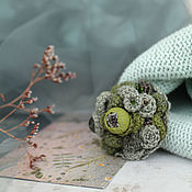 Украшения handmade. Livemaster - original item Brooch Foggy forest. Handmade.