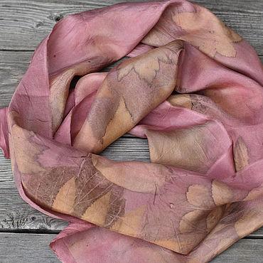 Accessories handmade. Livemaster - original item Narrow scarf silk