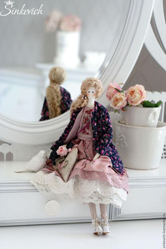 Куклы Тильды ручной работы. Ярмарка Мастеров - ручная работа. Купить Элизабет. Handmade. Тильда, для уюта