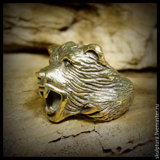 """Кольца ручной работы. Ярмарка Мастеров - ручная работа. Купить Кольцо """"Медведь"""". Handmade. Кольцо, авторская работа, ювелирное украшение"""