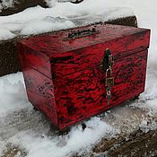Для дома и интерьера handmade. Livemaster - original item Rubin wooden box. Handmade.