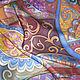 """Шарфы и шарфики ручной работы. Ярмарка Мастеров - ручная работа. Купить Шарф """"Вкус Востока"""". Handmade. Роспись, красители по шёлку"""