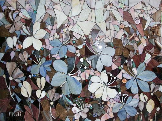 """Картины цветов ручной работы. Ярмарка Мастеров - ручная работа. Купить Картина-панно """"Танец цветов"""". Handmade. Картина в подарок"""