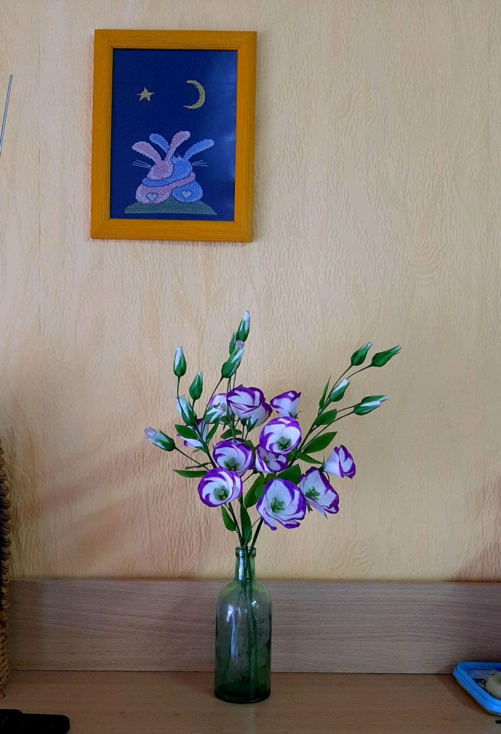 Лизиантус (эустома), Цветы, Козьмодемьянск,  Фото №1