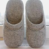 Slippers handmade. Livemaster - original item