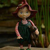 Куклы и игрушки ручной работы. Ярмарка Мастеров - ручная работа Санюшка. Handmade.