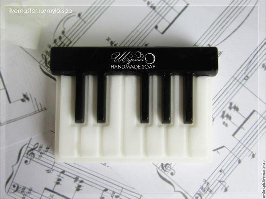 """Мыло ручной работы. Ярмарка Мастеров - ручная работа. Купить """"Клавиши / фортепиано"""", мыло ручной работы. Handmade."""