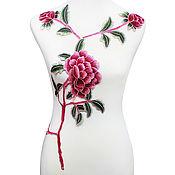 Материалы для творчества handmade. Livemaster - original item Peerless embroidery, applique. Baroness. Handmade.