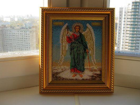 Иконы ручной работы. Ярмарка Мастеров - ручная работа. Купить ангел хранитель. Handmade. Ангел хранитель, икона ангел хранитель