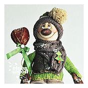 Куклы и игрушки ручной работы. Ярмарка Мастеров - ручная работа Снеговик 3. Handmade.