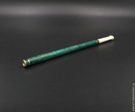 Персональные подарки ручной работы. Ярмарка Мастеров - ручная работа. Купить Мундштук для сигарет 2-37 Карельская береза. Handmade.