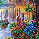 Order For pleasant memories: The painting 'Paris in colors'. Al-Lizzy. Livemaster. . Pictures Фото №3