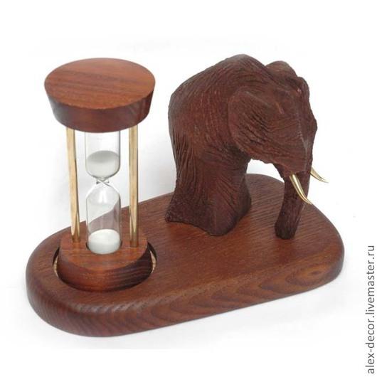 """Часы для дома ручной работы. Ярмарка Мастеров - ручная работа. Купить Песочные часы """"Mammoth"""". Handmade. Песочные часы, часы"""