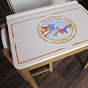 Дизайн и реклама handmade. Livemaster - original item painting baby furniture. Handmade.