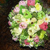 """Цветы и флористика ручной работы. Ярмарка Мастеров - ручная работа Букет из конфет """" Яркий"""". Handmade."""