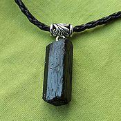 Фен-шуй и эзотерика handmade. Livemaster - original item Pendant with schorl - black tourmaline. Handmade.