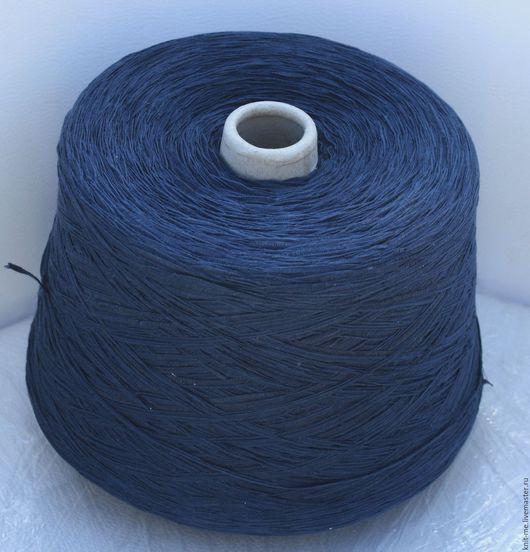 Вязание ручной работы. Ярмарка Мастеров - ручная работа. Купить NASTRINO (Fashion Mill). Handmade. Тёмно-синий, вискоза