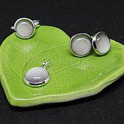 Украшения handmade. Livemaster - original item Jewelry set full Moon Ring Earrings Pendant. Handmade.