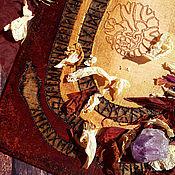 """Оберег ручной работы. Ярмарка Мастеров - ручная работа Защита От Колдовства-Рунический Змей """"Защита Двух"""". Handmade."""
