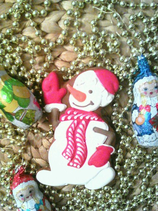 Персональные подарки ручной работы. Ярмарка Мастеров - ручная работа. Купить Снеговик новогодний. Handmade. Комбинированный, подарок женщине