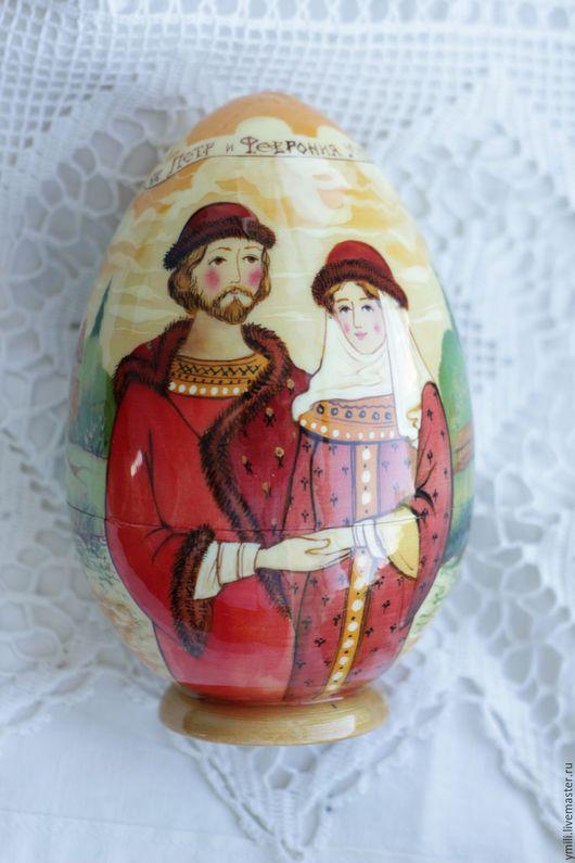 русский сувенир, пасха красная, ручная роспись