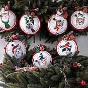 Christmas decorations handmade. Livemaster - original item Christmas decorations. Handmade.