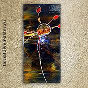 Картины и панно ручной работы. Ярмарка Мастеров - ручная работа Панно ПЕРО. Handmade.