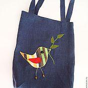 Аксессуары ручной работы. Ярмарка Мастеров - ручная работа Эко сумка Птичка-Невеличка. Handmade.