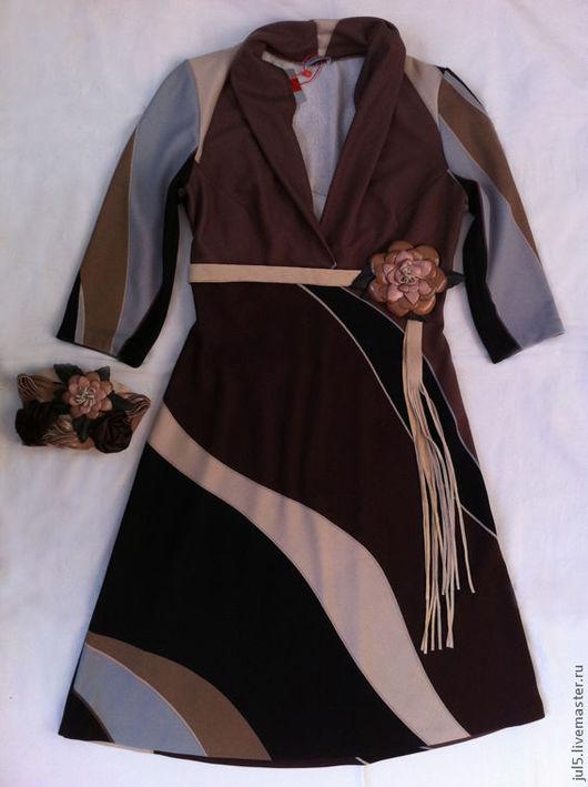 Комплект был сделан специально для этого платья. Может быть изготовлен в любых оттенках.
