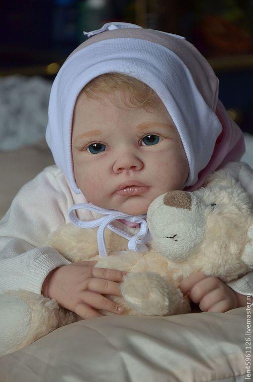 Куклы-младенцы и reborn ручной работы. Ярмарка Мастеров - ручная работа. Купить Кира.. Handmade. Белый, эксклюзивный подарок