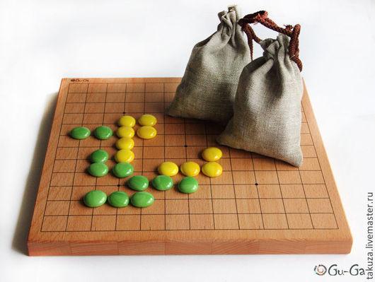 Настольные игры ручной работы. Ярмарка Мастеров - ручная работа. Купить Игра Го. Handmade. Го, марблс, стекло