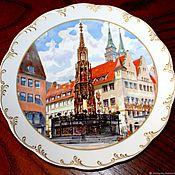 Винтаж handmade. Livemaster - original item Christmas plates
