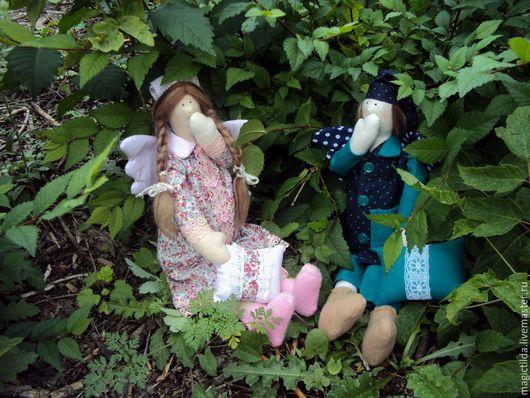 Куклы Тильды ручной работы. Ярмарка Мастеров - ручная работа. Купить Ангелы добрых снов, Сплюшки. Handmade. Сплюшка, флис