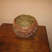 Для дома и интерьера ручной работы. Ярмарка Мастеров - ручная работа Ваза из шпагата. Handmade.