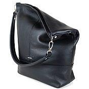 """""""Inosenta"""", натуральная кожа, сумка черный цвет"""