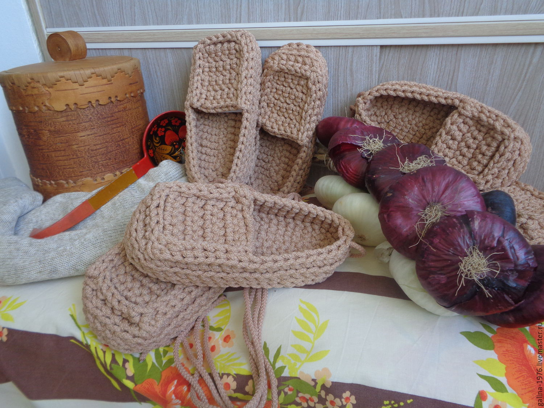 Крючок для вязания лаптей