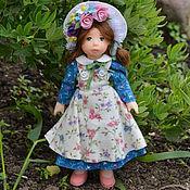 Куклы и игрушки ручной работы. Ярмарка Мастеров - ручная работа Кукла миниатюрная  10,5 см.. Handmade.