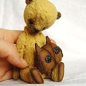 Куклы и игрушки ручной работы. Ярмарка Мастеров - ручная работа С совенком.. Handmade.