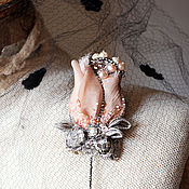 """Украшения ручной работы. Ярмарка Мастеров - ручная работа Брошь кулон """" Роза в серебрянном инее"""". Handmade."""