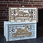 Свадебный салон handmade. Livemaster - original item Wedding Bank (treasury)