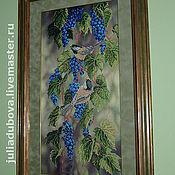 Картины и панно ручной работы. Ярмарка Мастеров - ручная работа Синие брызги. Handmade.