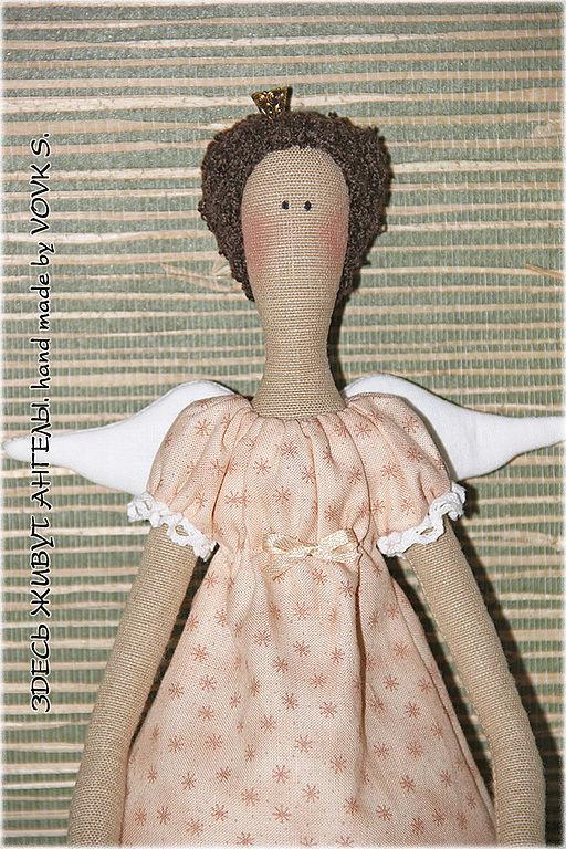 Куклы Тильды ручной работы. Ярмарка Мастеров - ручная работа. Купить Принцесса.. Handmade. Кремовый, кукла ручной работы