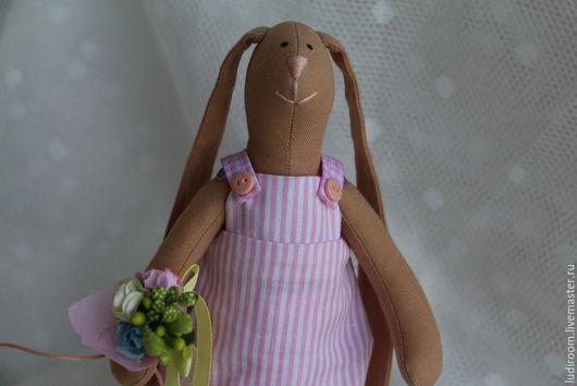 Игрушки животные, ручной работы. Ярмарка Мастеров - ручная работа. Купить Тильда заяц. Handmade. Заяц, заяц текстильный