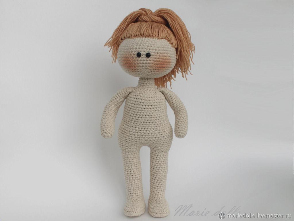 Заготовка куклы Кукла 30 см без одежды. Интерьерная и игровая кукла, Большеножка, Нижний Тагил,  Фото №1