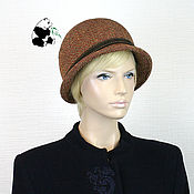 Аксессуары handmade. Livemaster - original item Elegant women`s hat