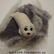 Куклы и игрушки ручной работы. Ярмарка Мастеров - ручная работа Нерпенок. Handmade.