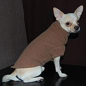 Для домашних животных, ручной работы. Ярмарка Мастеров - ручная работа Пальто. Handmade.