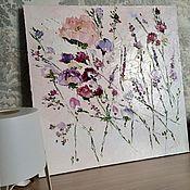 Картины и панно handmade. Livemaster - original item Roses pastel colors ash flowers oil painting buy. Handmade.